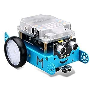 Makeblock Mbot Versione Aggiornata Fai da te Mbot V1.1 Arduino C Grafica Programmazione Educativa DIY Robot Car Kit(Bluetooth Versione)