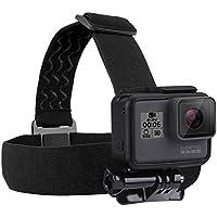 Para Go Pro Accesorios ajustable elástica soporte de cabeza cinturón cinta para la cabeza para GoPro Hero5Hero4session Hero 43+ 321Cámara deportiva, color Head Belt