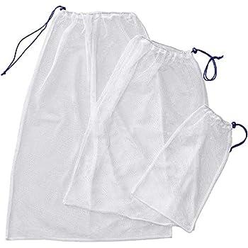 Wäschesäcke aus Mesh für Feinwäsche, wiederverwendbare