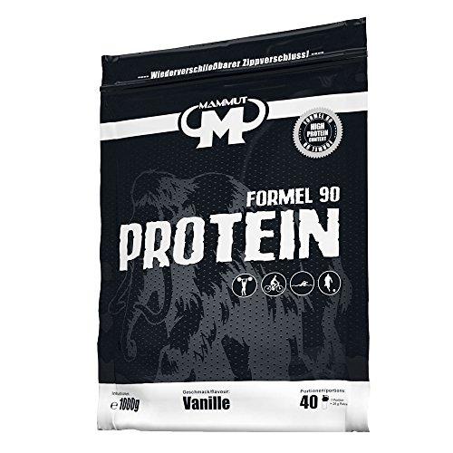 Mammut Formel 90 Protein, Vanille, 1000 g Beutel