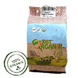 #5: Just Organik Jaggery Powder 500gm, 100% Organic, GMO Free, Chemical Free, Pesticide Free, USDA Certified