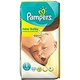 Pampers New Baby Taille 1 2-5kg nouveau-né (45) - Paquet de 6