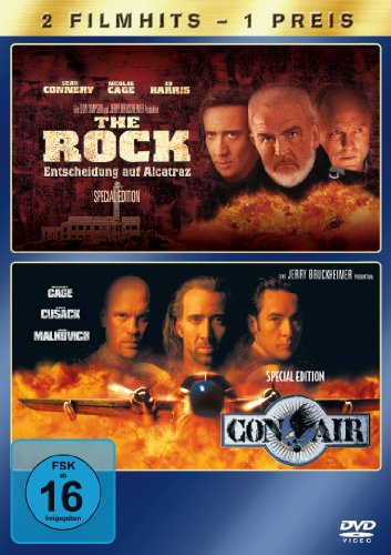 The Rock, S.E. / Con Air, S.E. [2 DVDs]