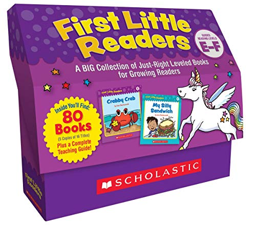 Classroom Set: Levels E & F: A Big Collection of Just-Right Leveled Books for Growing Readers ()