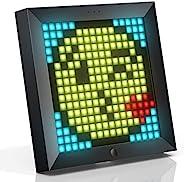 Divoom Pixoo - Cadre photo numérique Pixel Art avec lumière d'ambiance de 22 cm, commande par application,