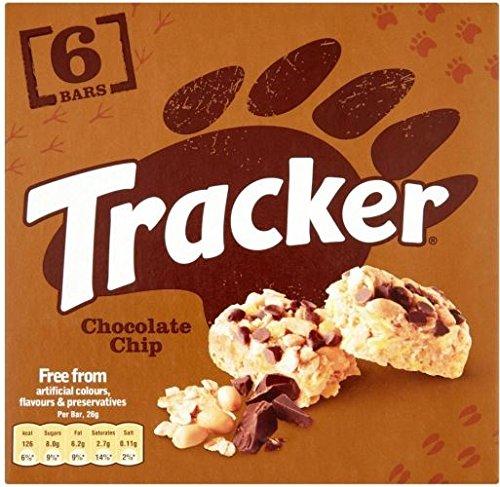 Tracker Chocolate Chip Bars (6x26g) - Packung mit 6 -