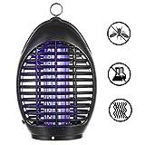 FITFIRST Elektrisch Moskitoschutz Insektenvernichter UV Lampe Mücken Fliegenfänger Insektenfalle Zum Aufhängen Gegen Fliegende Insekten für Haus, Büro, Garten und Camping im Freien