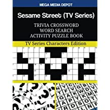 Sesame Street (TV Series) Trivia Crossword Word Search Activity Puzzle Book