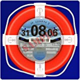 Lifebuoy PARKING PERMIT Holder Skin Red Blue - FREE UK POSTAGE
