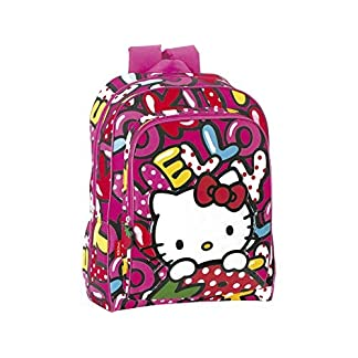 Hello Kitty Mochila Adaptable A Carro de 'Sweetness' Mochila Tipo Casual, 40 cm, 22 litros