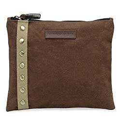 The House Of Tara Unisex Clutch (Rustic Brown) HTCL 012