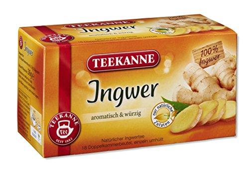 Teekanne Ingwer 18 Beutel, 12er Pack (12 x 36 g)
