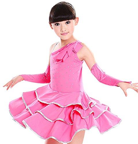 t Handschuhen Mädchen Dancewear der Rose (120cm Höhe) ()