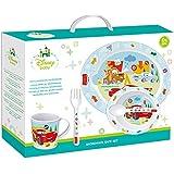 Winnie The Pooh - Set Microondas 5 Piezas Disney Baby Cars rojo