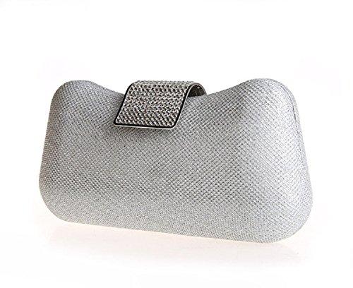 Strass fibbia borse/Package banchetto/ sacchetto di mano di moda-A A