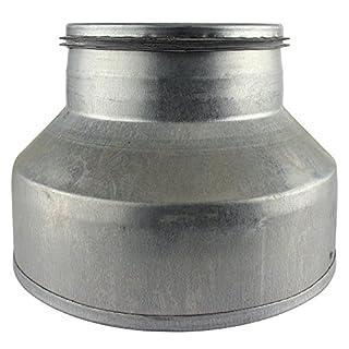 Wandrosette Wandflansch Rosette /Ø 120 mm 12 cm RMN chrom rostfrei Flansch Alu-Flex-Rohr Thermoflex Flexrohr Aluflex Metallflansch Edelstahl Hitzebest/ändig