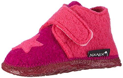 Nanga Stern, Chaussons premiers pas mixte bébé Rose - Pink (Beere 30)