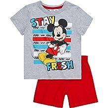 Disney Mickey Chicos Pijama mangas cortas 2016 Collection - Gris