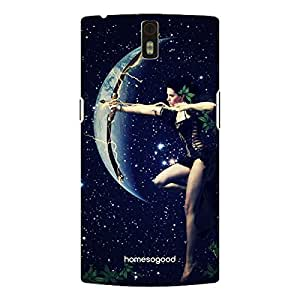 HomeSoGood Sagittarius Zodiac Sign Multicolor 3D Mobile Case For OnePlus One (Back Cover)