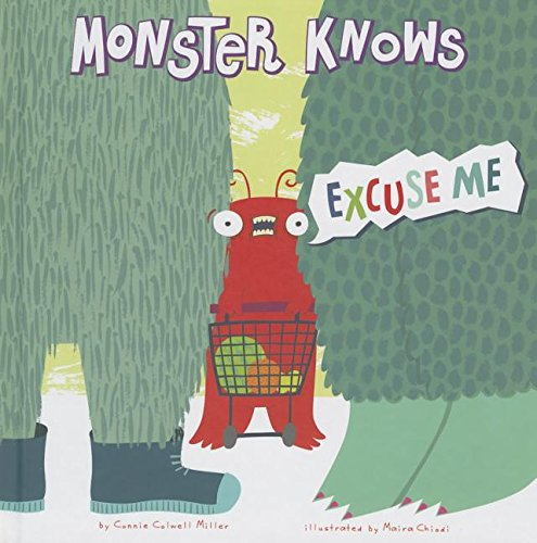 Monster Knows Excuse Me (Monster Knows Manners)