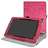 Acer Iconia One 10 B3-A40 Rotating Case hülle,Mama Mouth