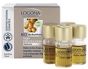 Logona - 1010hyamp - Soin Anti-Age - Ampoules Régénération Profonde - 4 x 2.5 ml
