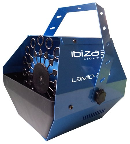 Ibiza 15-1098e Tragbare Seifenblasenmaschine (Nebelmaschine Seifenblasenmaschine)