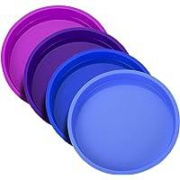 Uarter Moule à Gâteau Rond en Silicone 15cm, Moule Rond Anti-adhésifs sans BPA pour Fête d'anniversaire,Anniversaire de…