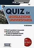 Quiz di legislazione universitaria