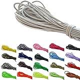 Roban Fashion 10m Goma elástica Cordel 3mm Goma Cuerda cordón elástico Sombrero auswahll de Goma de 32Colores