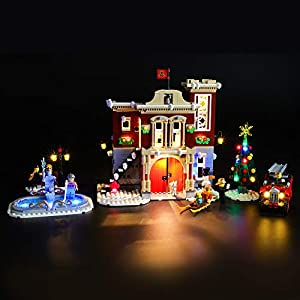 LIGHTAILING Set di Luci per (Creator Expert Winter Village Fire Station) Modello da Costruire - Kit Luce LED Compatibile… 0716852282173 LEGO