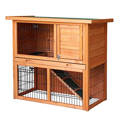 51uCV0ruaQL - NO.1# TOP 10 BEST RABBIT HUTCH REVIEW -CHOOSE THE BEST RABBIT CAGE