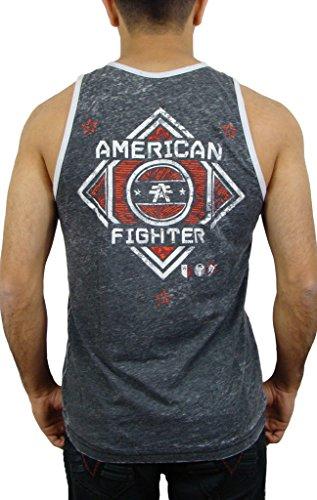 American Fighter by Affliction Tank Top Grove Artisan Grau Grau