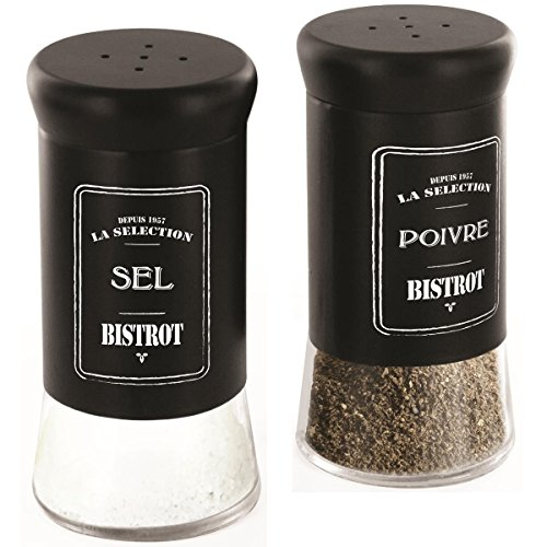 Pfeffer Und Salz Kostüme (Promobo Duo Salz und Pfeffer Retro Salz und Pfefferstreuer Collection)