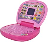 #6: Techhark Pink Educational Learning Kids Laptop, LED Display, with Music Learn Numbers and Alphabets