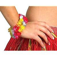Ladies Fancy Dress Beach Group-Bracciale da donna, in stile hawaiano, accessorio per feste - Beach Bracciali