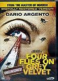 4 Mosche di Velluto Grigio (Four Flies on Grey Velvet) (1971) (Uncensored & Restored) (Region 2) [Edizione: Scandinavia] (Lingua italiana) (Senza sottotitoli in italiano)