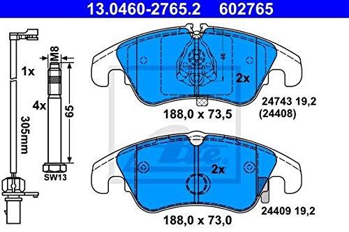 ATE 602765 Kit Freno