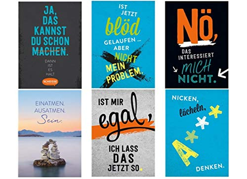 Magnete Groh Verlag Restposten 100 x Deko m. schönen Sprüchen