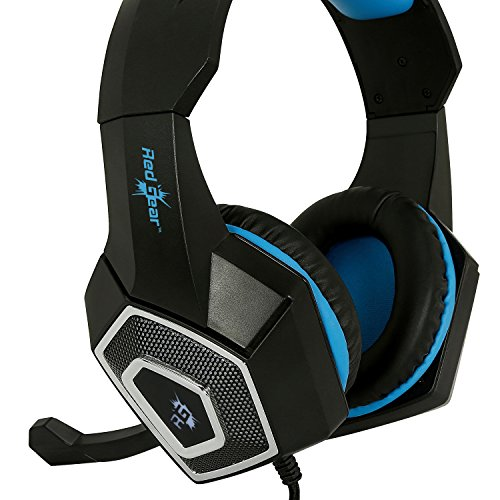 Redgear Dagger Professional Gaming Headphones with RGB LED Impact, Volume Controller and Retractable Microphone Image 3