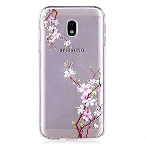 BoxTii Galaxy J5 2017 Hülle, TPU Silikon Clear Stoßdämpfend Schutzhülle für Samsung Galaxy J5 2017