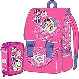 Kit Scuola School Pack Zaino Estensibile + Astuccio 3 Zip Disney Violetta Super Star Edizione 2015-2016
