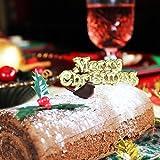 Anniversary House Merry Christmas Cake Pick