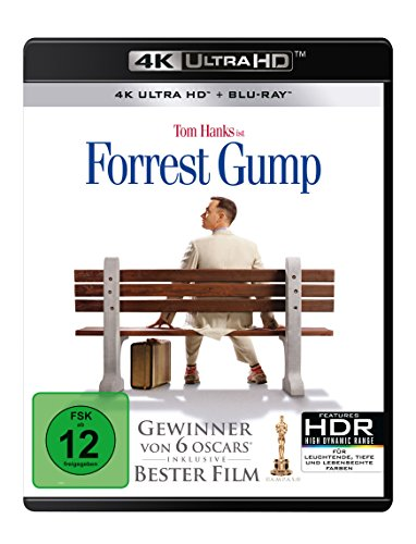 Forrest Gump  (4K Ultra HD) (+ Blu-ray 2D)