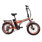 Velobecane Snow Rouge - Vélo Électrique Mixte Adulte, Rouge