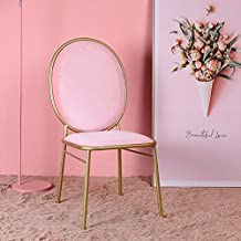 LRZS Furniture Nordic Ins Vent Filet Rouge Chaise Retour Princesse Maquillage Tabouret Chambre