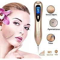 Preisvergleich für Maulwurf Entfernerstift 9Stärke Level Spot Eraser Pro Maulwurf Tattoo Entferner Stift mit austauschbaren Nadeln...