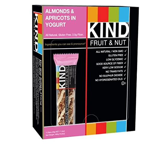 Bar Almond & Apricot with Yogurt Bar 40 gm (Case of 12)