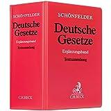Deutsche Gesetze Ergänzungsband: Rechtsstand: 1. September 2015