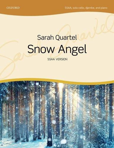 Snow Angel: SSAA vocal score